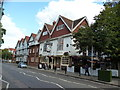 TQ2178 : Turnham Green:  The 'Tabard' public house and theatre by Dr Neil Clifton