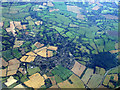 TM0735 : East Bergholt from the air by Thomas Nugent