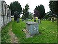 ST6355 : St John the Baptist, Farrington Gurney: churchyard (3) by Basher Eyre