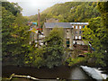 SJ9985 : Torr Vale Mill by David Dixon