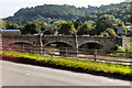 SO5112 : Wye Bridge, Monmouth by David Dixon