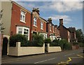 SJ8934 : Houses on Station Road, Stone by Derek Harper