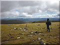 NN5698 : On the summit plateau of Geal Charn by Karl and Ali