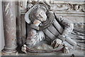 TF0904 : Lady Bridget Carre Memorial, St Andrew's Ufford by J.Hannan-Briggs