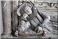 TF0904 : Lady Bridget Carre Memorial, St Andrew's Ufford by J.Hannan-Briggs