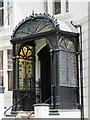 TQ3004 : Ornate porch, Montpelier Road, BN1 by Mike Quinn