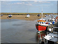 TF9143 : The harbour, Wells-next-the-Sea by Pauline Eccles