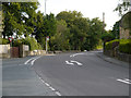 SJ9688 : Strines Road (B6101) at Marple by David Dixon