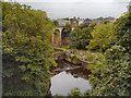 SK0085 : River Goyt, New Mills by David Dixon