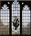 TL3855 : St Mary, Comberton - Stained glass window by John Salmon
