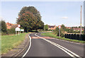 SO9254 : Entering Broughton Hackett on A422 by John Firth