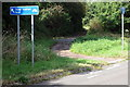 SP7832 : Cycle path to Nash by Philip Jeffrey