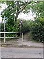 SP7734 : Path to Nash high street by Philip Jeffrey