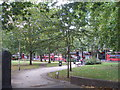 TQ2982 : Euston Square Gardens by John Slater