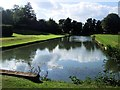 TL0935 : Leg of Mutton Lake, Wrest Park by Paul Gillett