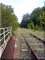 SP7728 : Disused Oxford Bletchley railway by Philip Jeffrey