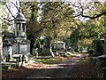 TQ2382 : In Kensal Green Cemetery by John Sutton