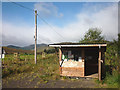 NO0263 : Wooden kiosk at SEER Centre, Glen Brerechan by Karl and Ali