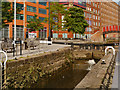 SJ8498 : Rochdale Canal Lock#82 (Ancoats Lane) by David Dixon