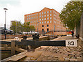 SJ8498 : Brownsfield Lock and Brownsfield Mill, Manchester by David Dixon