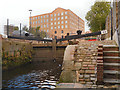 SJ8498 : Rochdale Canal, Brownsfield Lock (#83) by David Dixon