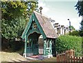 TQ3975 : St Margaret, Brandram Road - Lychgate by John Salmon
