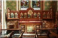 TQ3975 : St Margaret, Brandram Road - South chapel altar by John Salmon