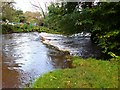 NT2270 : Weir at Slateford by Jim Barton