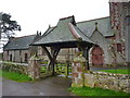 NY0900 : St Paul's Church, Irton, Lychgate by Alexander P Kapp
