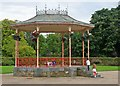 S6111 : The Bandstand in the Peoples park by Paul O'Farrell