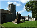 SY6593 : St Mary, Stratton: churchyard (A) by Basher Eyre