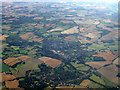 TL7835 : Castle Hedingham from the air by Thomas Nugent
