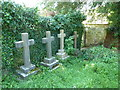 SY6697 : Holy Trinity, Godmanstone: churchyard (2) by Basher Eyre