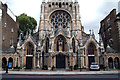 TQ2479 : Kensington:  St. John the Baptist Church, Holland Road by Dr Neil Clifton