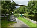 NS4672 : Cycle route at Old Kilpatrick by Lairich Rig