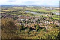 SJ4975 : Helsby from Helsby Hill by Jeff Buck