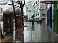 TQ2982 : A wet day in London Town by Robin Webster