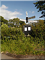 SJ8880 : Crossroads at Newton Chapel by David Dixon