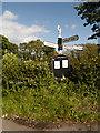 SJ8880 : Crossroads at Newton Chapel by David Dixon