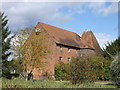 TQ7146 : Oast House, Moat Farm by David Anstiss