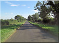SP1406 : Unnamed road southeast of Knoll Barn by Stuart Logan