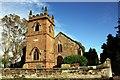 SJ4570 : St Peter's Church, Plemstall by Jeff Buck