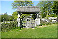 SX6359 : Lych gate at Harford church by Graham Horn
