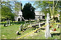 SX6359 : Harford churchyard, storm damage (3) by Graham Horn