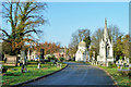TQ3272 : West Norwood Cemetery by Robin Webster