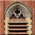 J3774 : Tower detail, Belmont Presbyterian church, Belfast by Albert Bridge