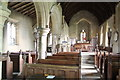 TF1346 : Interior, St Oswald's church, Howell by J.Hannan-Briggs