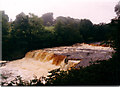 SE0188 : Aysgarth Middle falls by Sheena Pawson