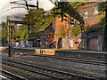 SJ8892 : Heaton Chapel Railway Station by David Dixon