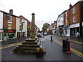 SK0043 : Cheadle, market cross by Mike Faherty